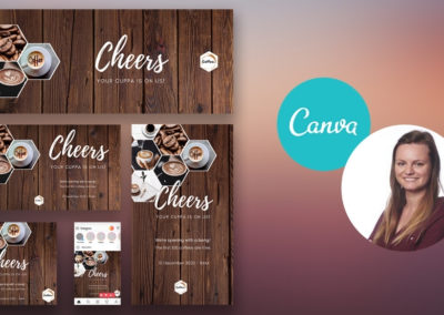 Your social media campaign with Canva